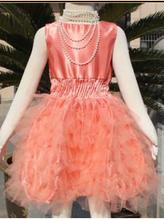 2015 wholesale Kids Clothing Girls White Lace Wedding Dress