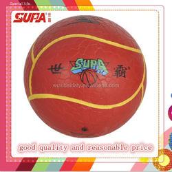 solid rubber inflatebal soccer ball, size 5, 2015 new design custom logo football