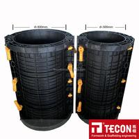 Reusable Plastic Round Column Formwork