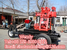 Core drilling machine portable water well drilling machine diesel engine