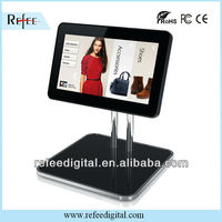 10 inch advertising player metal case for table wall mounted