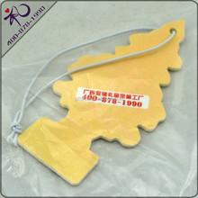 Shenzhen Factory custom logo hanging paper air freshner for Cars