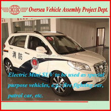 low-speed small electric cars suv for special use (fire patrolling, etc)