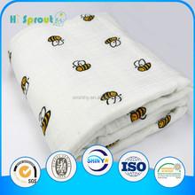 Baby Muslin Wrap Swaddle Blanket 100% Organic Cotton Super Soft