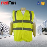 EN ISO 20471 high visibility workwear 2014 new winter style adult led safety vest