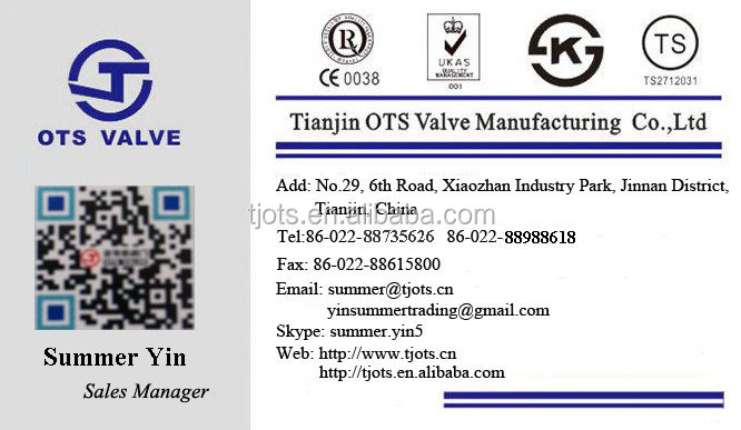 BV-SY-413 kitz Hydraulic Power and Stainless Steel Material long stem valve