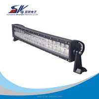 curved offroad Led Light Bar 120w 180w 288w 300w available bent led light bar
