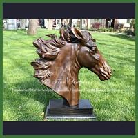 Decorative Bronze Horse Head