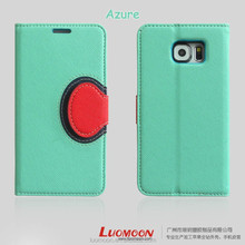 Eco-Friendly Material Leather Flip Mobile Phone Case Cover