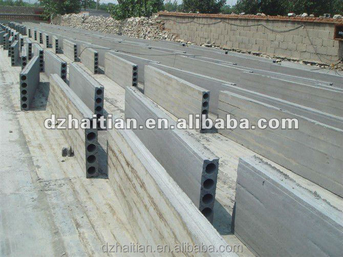 Prefab Concrete Walls : Prefab house concrete wall panel making machine buy