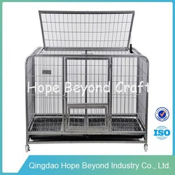 Pet cages breeding cage dog cheap iron dog cage