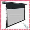 3D Movies,3D Silver Motorized Tab Tensioned Projection Screen,Home Theater Projector Screen
