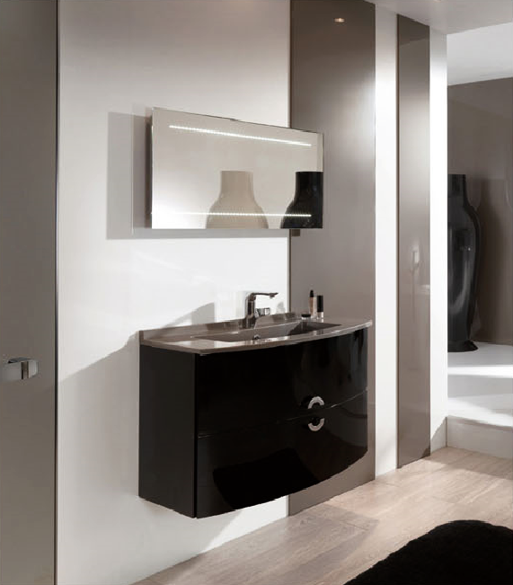 Eco Friendly Waterproof Customized Mdf Bathroom Vanity Customized Mdf Bathroo
