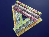 Custom Safety Reflective Bracelets Strap Armband Snap Wrap