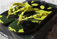2015 Fashion Women Brand Hot girls eva flip flops yellow sandals