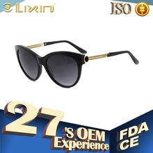 italy brand design ce sunglasses with metal decoration 57BT44018