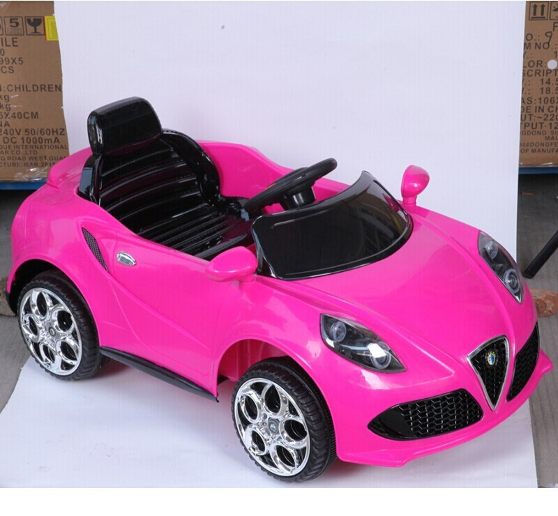 Pink Color Kids Car Toy Automatic Wholesale Ride On