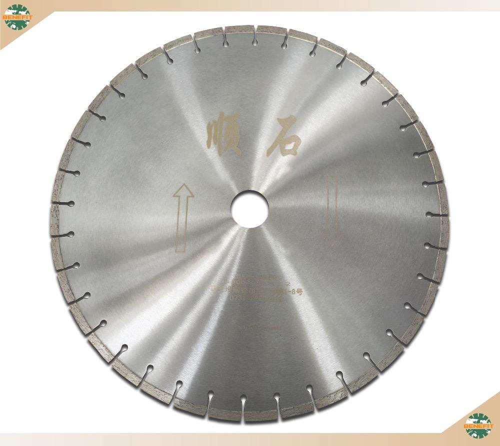 Dichte Granit 500mm kreissägeblätter für dichte granit platten schneiden