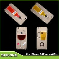 Luxury Wine Bottle Opener Phone Case Cover,For iPhone 6 Wine Bottle Case