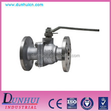 Flange connection type cast steel multi-function 2 inch ball valve