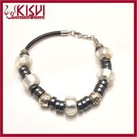 cz jewelry silver 925 ladies pearl bracelet watch Low price with great price