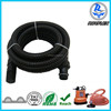 high pressure flexible corrugated pvc water pump suction hose with fittings