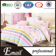 China Wholesale ex-stock lot cost price comforter printed polyester fabric bedding set