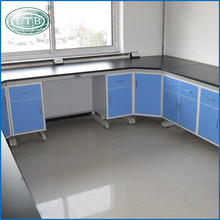 Corner Table Chemical stainless steel dental lab technician table