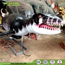 Dinosaur Model For Water Equipment Exhibition Art Liopleurodon