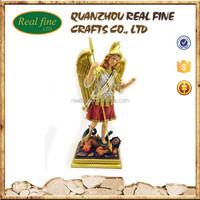 resin religious famous Archangel Michael statue