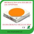 3030 superficie de dispositivos montado de alta potencia diodo emisor de luz