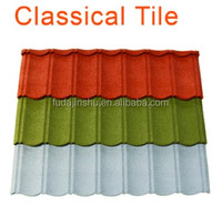 stone coated metal roofing tile for house