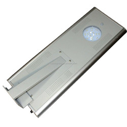 Compact all in one solar street light solar road light with motion sensor save install expense