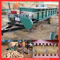 CE APPROVED wood log barker/double roller wood skin removing machine/tree log skin removal machine