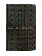 Black plastic tray for hardware tools packing, hard plastic tray