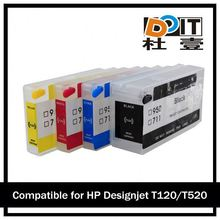 low cost Ciss with Rest chip for HP t120 ( 711 )