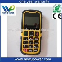 Hot selling waterproof phone latest old man mobile phone cheap mobile phone made in china with CE certificate