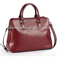 fashionable imitation leather bag/ladies tote bag
