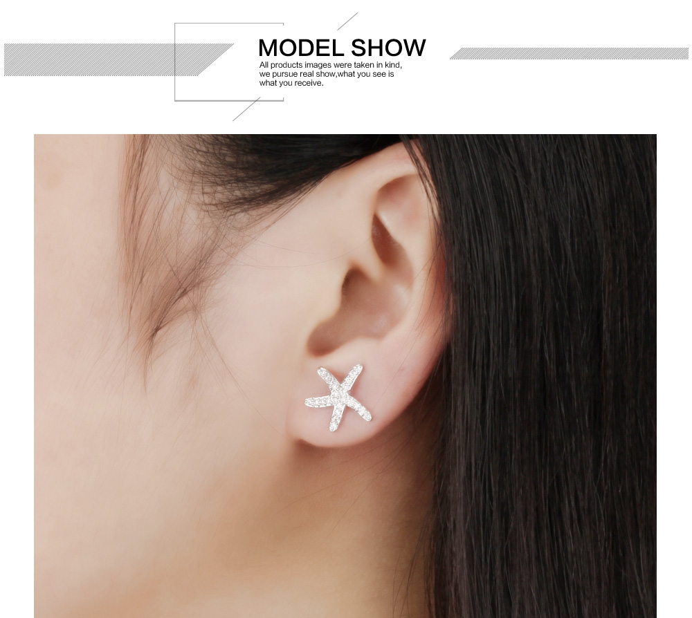 New 2018 Latest Beautiful 2 Gram Gold Earrings Designs For Girl Women, Fashion Crystal Silver Stud Earrings Women Jewelry