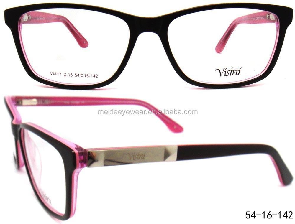 Eyeglass Frames Popular : 2015 Popular Eyeglasses Frames Of Acetate Optical Frame ...