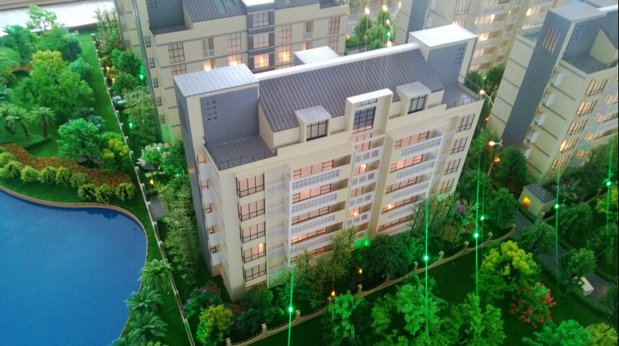 1 150 apartment building house miniature scale model maker for Apartment building maker