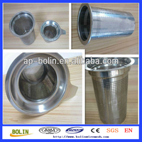 Stainless Steel Wire Mesh Cylinder Filter / Stainless Steel Bin / Thick Wall Acrylic Tube (free Sample)