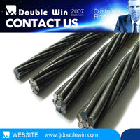 9.53mm trade assurance 7 wire low relaxation grade 270 pc strand construction material