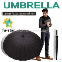 PN Unisex Umbrellas Withstand win//Straight Shank/bent/Transparent/Rainbow Straight Automatic Umbrella