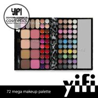 UK alibaba express TZ 72colors eye shadow private label cosmetics