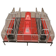 pig farm equipment steel crate for farrowing pigs