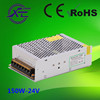 Good quality IP20 24V 150W non-waterproof LED power supply, DC LED driver,indoor LED power supply