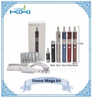 Hot new products 1600mah Evod VV Battery and 2.8ml Emow Mega Clearomizer kit original kanger emow mega kit