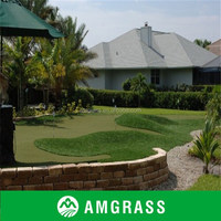 Good UV stability putting green golf grass for Sports Flooring (AC2-12PA)