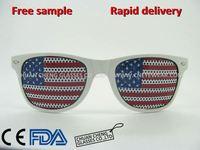 United States flag glasses custom LOGO Fans eye glasses Promotional eyewear flag sunglasses 311